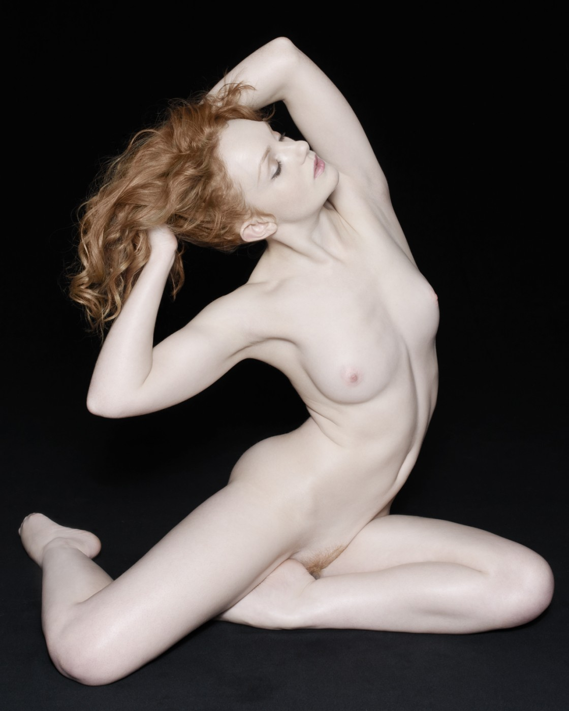 Sample poses for implied nude