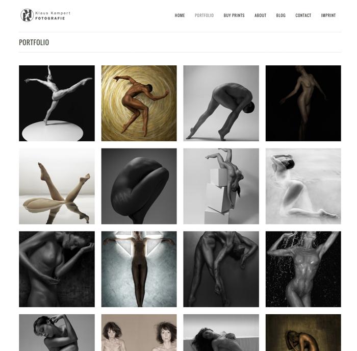 Bildschirmfoto web site